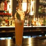 Spiced pineapple Sling